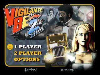 Screenshot Thumbnail / Media File 1 for Vigilante 8 - 2nd Offense [U]